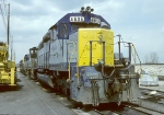 CSX SD-40 4606